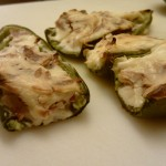 Bacon and Cream Cheese Stuffed Jalapeño Peppers