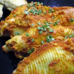 Stuffed Shells with Rosé Sauce