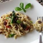 Cold Asparagus Orzo Salad