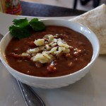 Spicy Refried Bean Soup