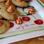 Pumpkin Spice Cookies with Pumpkin Kisses
