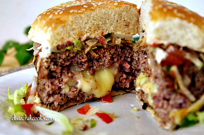 Enchilada Burger