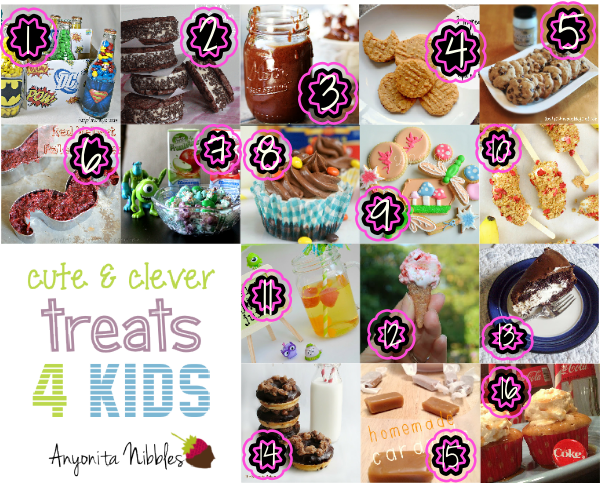 Cute  Clever Treats 4 Kids Collage