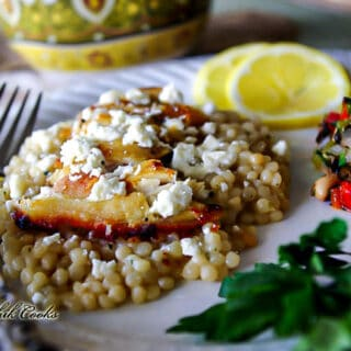 Oregano Chicken with Pearl Couscous