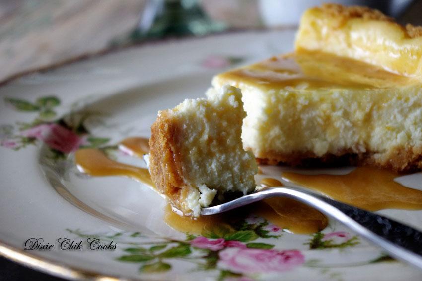Bailey's Irish Cream Cheesecake with Ritz Cracker Crust