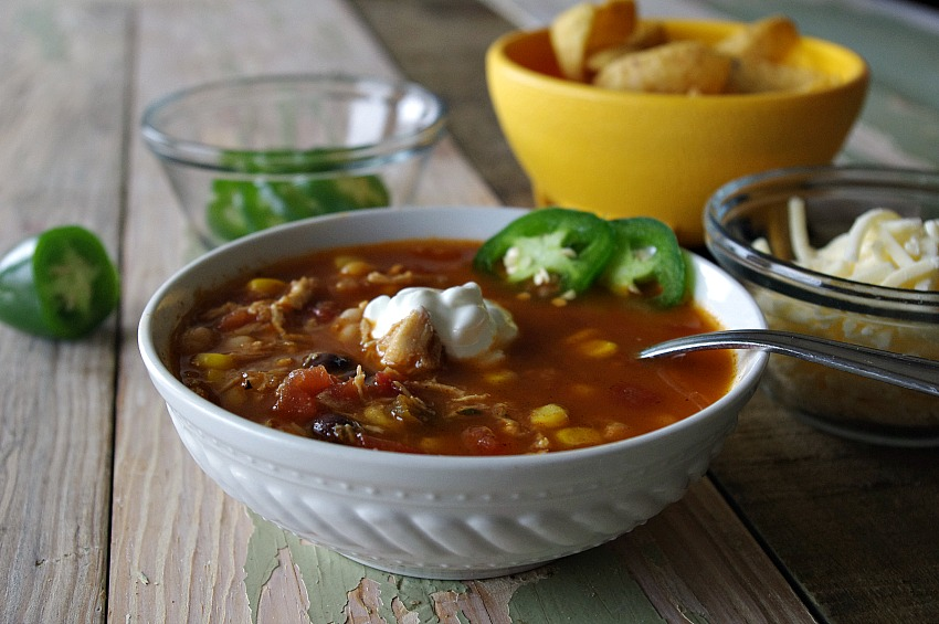 Ranch Chicken Chili