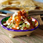 Bacon and Blue Cheese Buffalo Guacamole