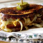 Spicy Buffalo Patty Melts