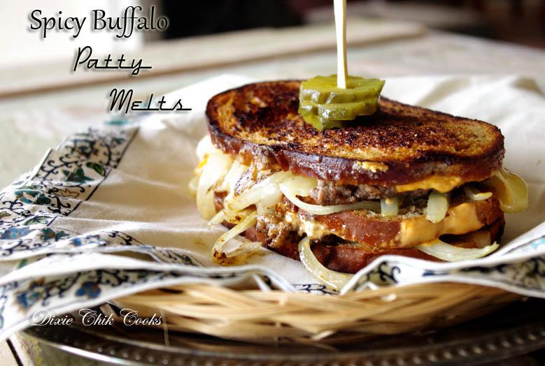 Spicy Buffalo Patty Melts