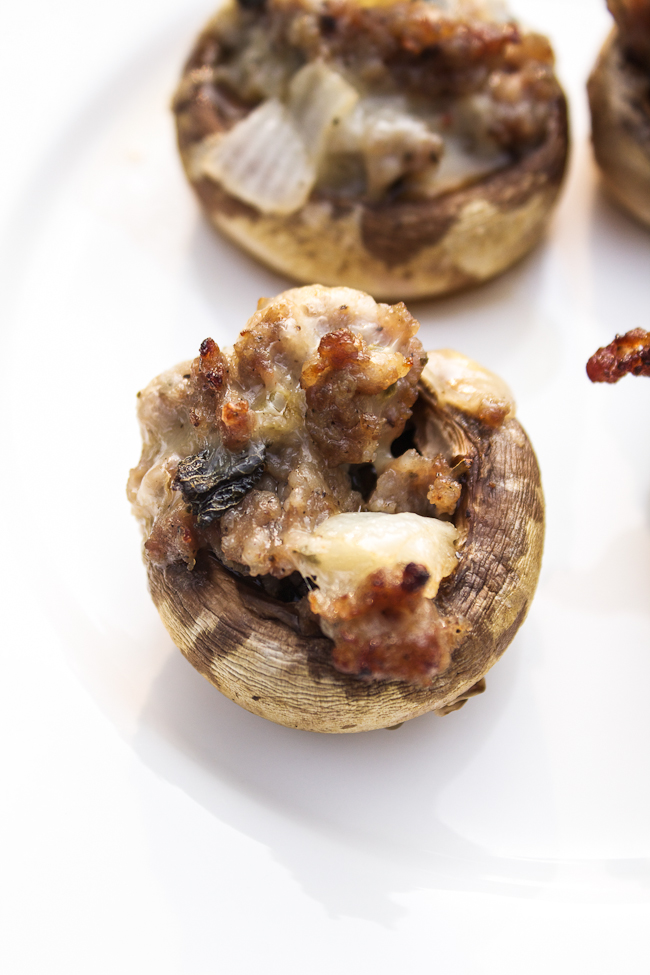 Sausage-Pepper-Jack-Stuffed-Mushrooms-Recipe