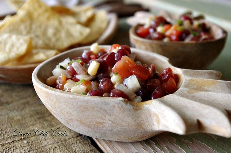 Pomegranate and Shoepeg Corn Pico