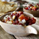 Pomegranate and Shoepeg Corn Pico