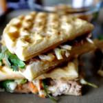 Asian Chicken Waffle Panini
