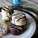 Peanut Butter Rolo Ritz Cookies