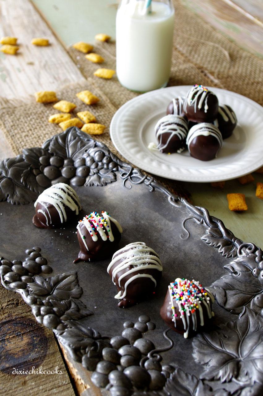 Krave Chocolate Chip Cookie Dough Truffles