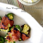Ham Wrapped Mac and Cheese Stuffed Jalapenos