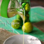 Honey Key Lime Dressing