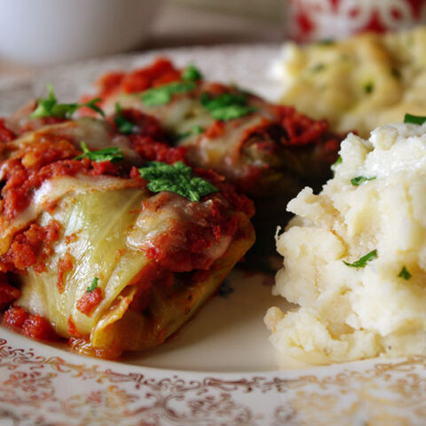 Spicy Cabbage Rolls