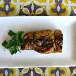Italian Sausage, Spinach and Mushroom Stuffed Pork