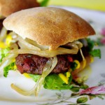 Jamaican Jerk Burgers from Ally's Kitchen