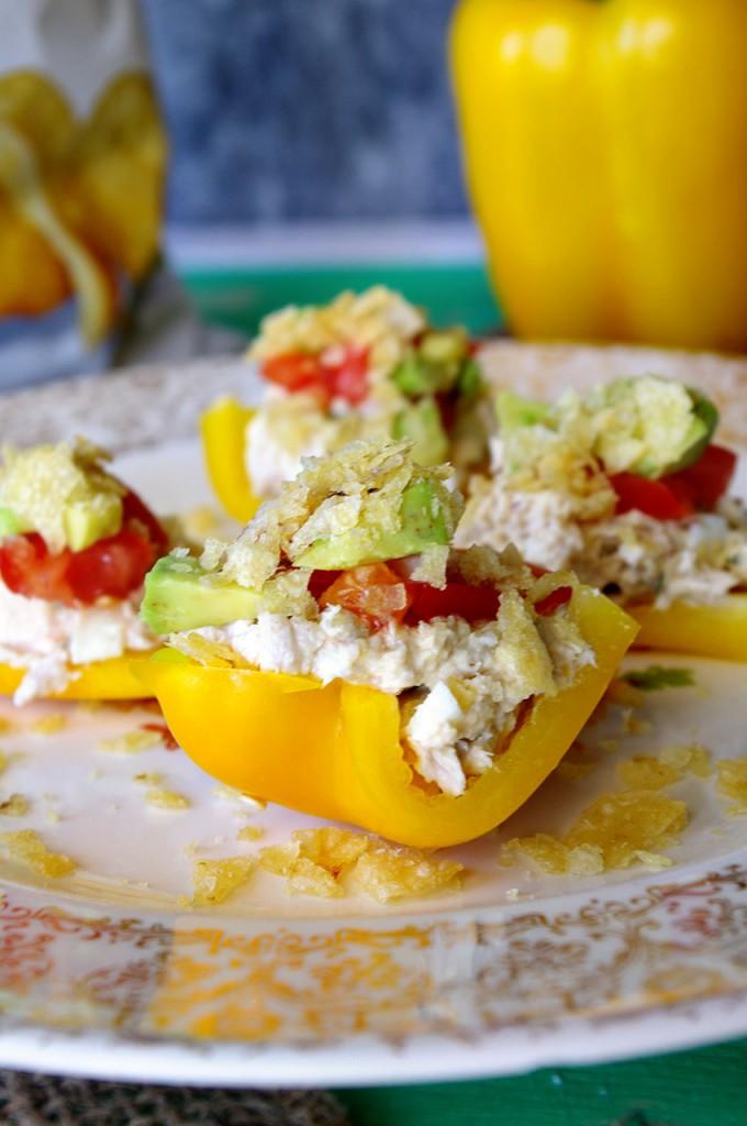 Bell Pepper Nachos | Dixie Chik Cooks