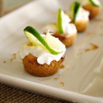 Mini Key Lime Cheesecakes