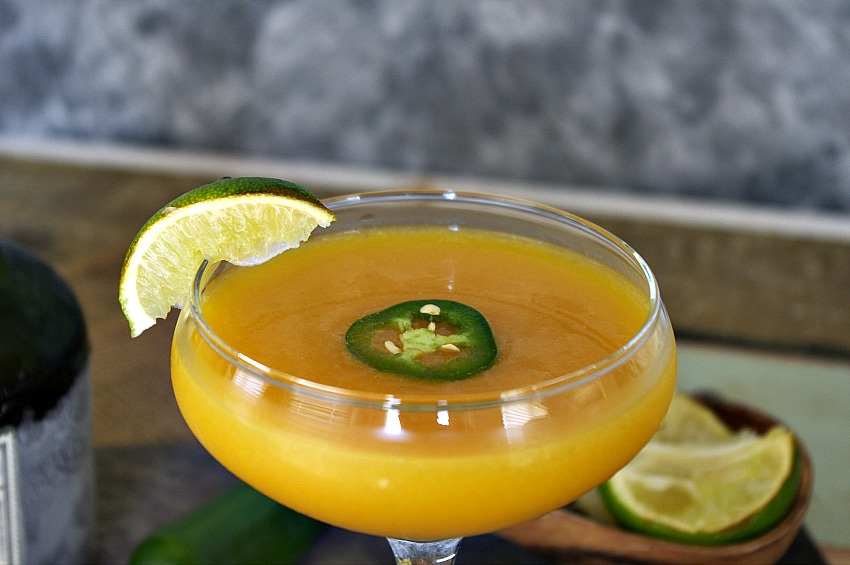 Mango Lime Jalapeno Daiquiri