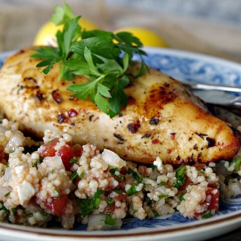 Citrus Chicken with Tabbouleh