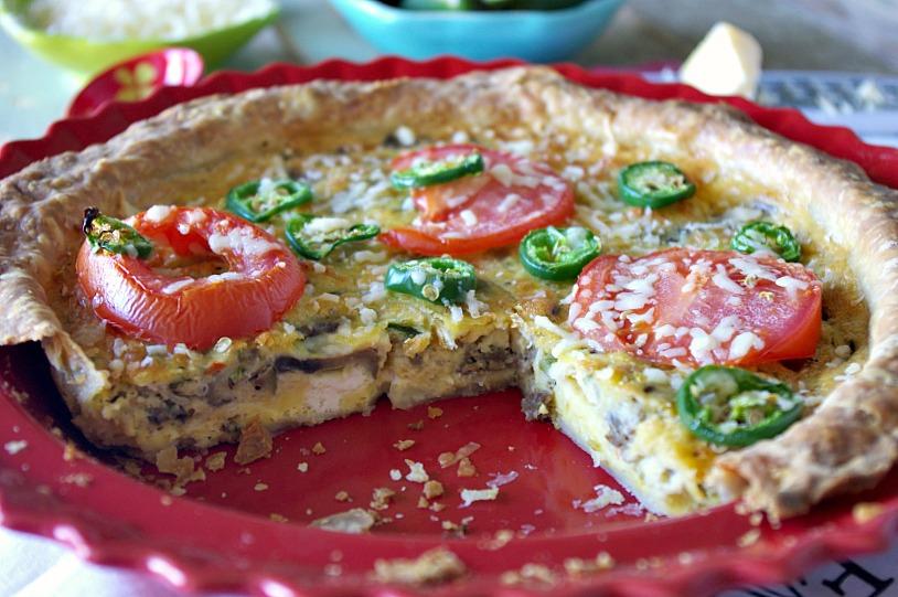Supreme Pizza Quiche