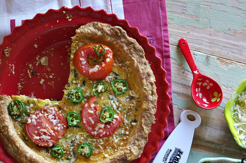 Pizza Quiche
