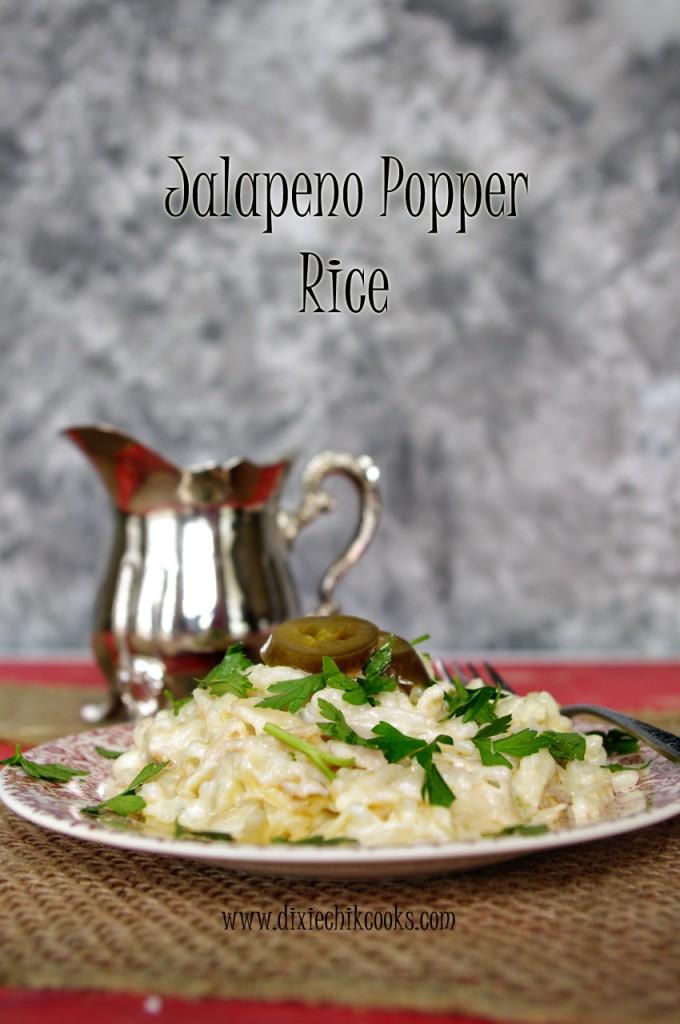 Jalapeno Popper Rice
