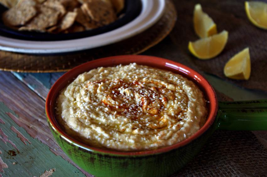 Pineapple Serrano Hummus
