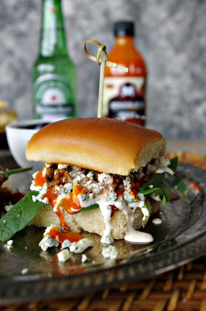 Buffalo Blue Sloppy Joes