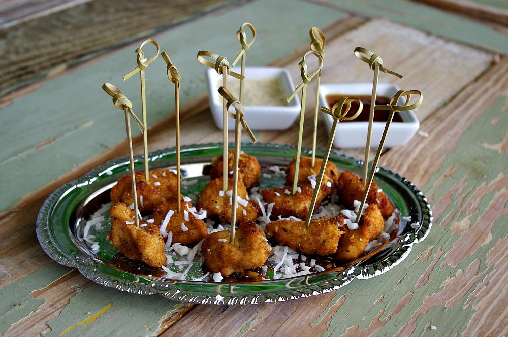 Coconut Chicken Bites