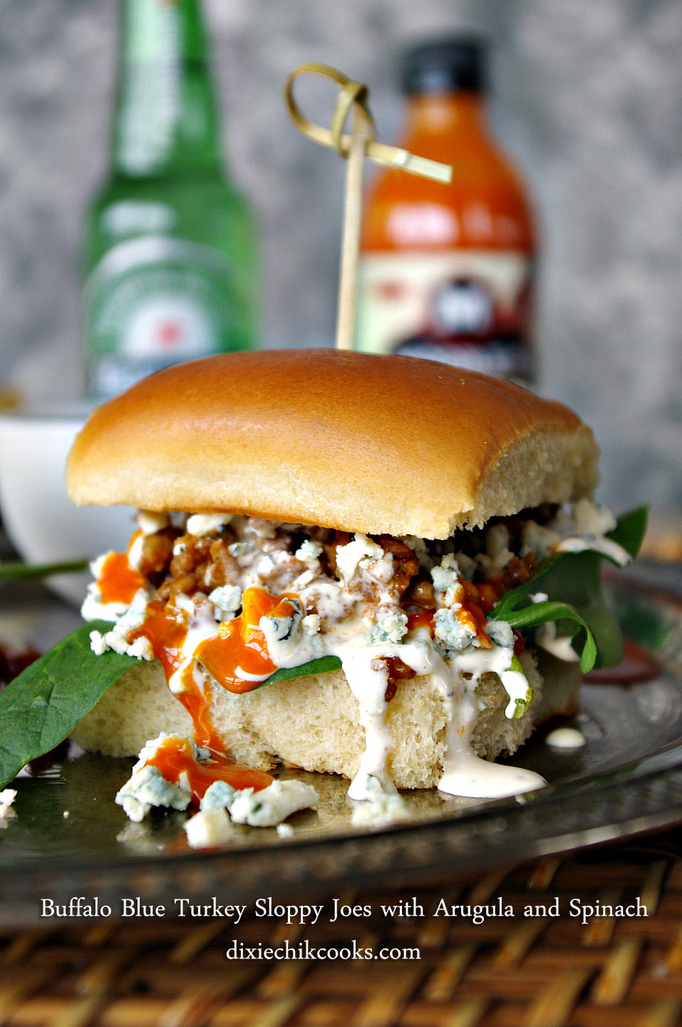 Buffalo Blue Turkey Slider