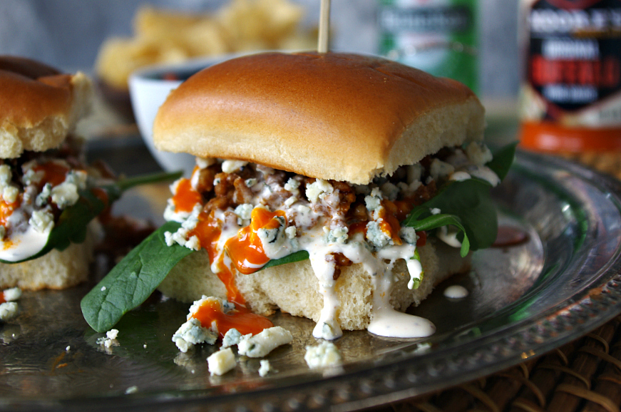 Buffalo Blue Turkey Sloppy Joes
