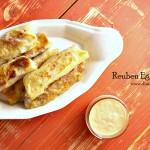 Reuben Eggrolls