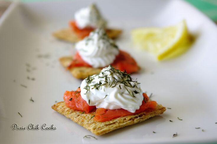 Smoked Salmon Cream Cheese Bites