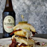 Guinness BBQ Corned Beef and White Cheddar Sliders