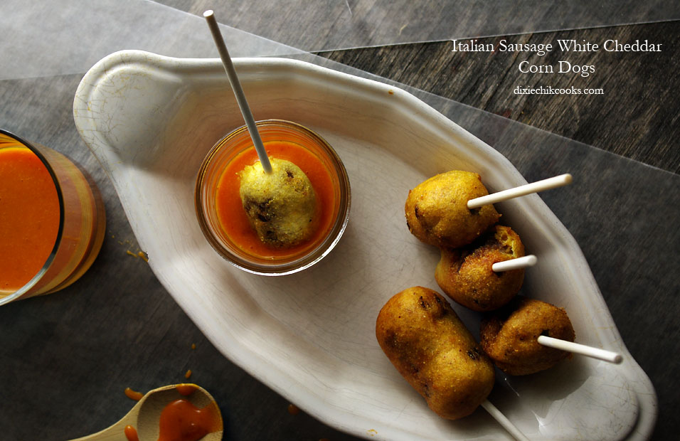 Mini Beer-and-Sausage Corn Dogs Recipes — Dishmaps