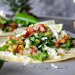 Pork Tacos with Pineapple Guacamole