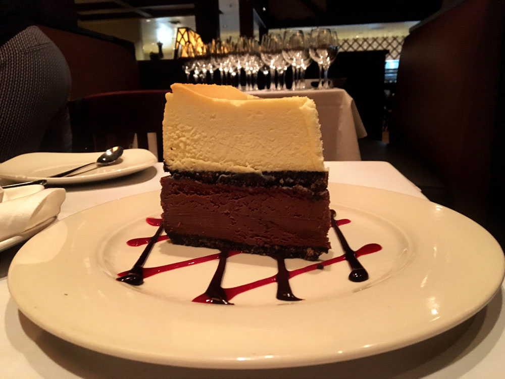 Double Decker Cheesecake
