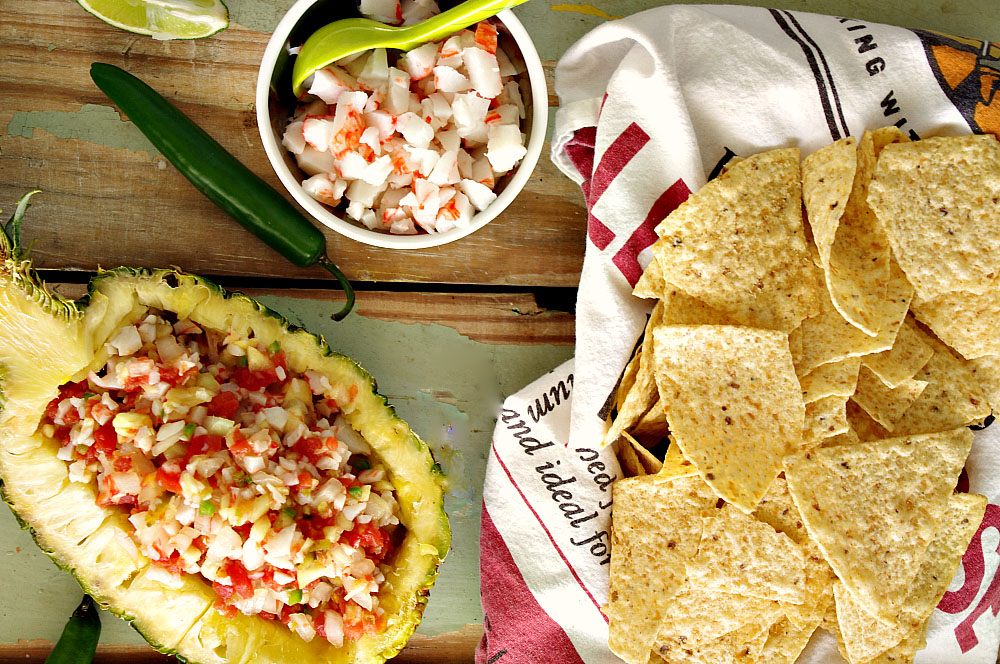 Crab Pineapple Salsa