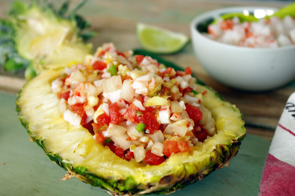 Crab Pineapple Salsa|Dixie Chik Cooks