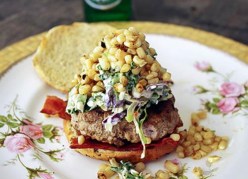 Sirloin and Pork Burger