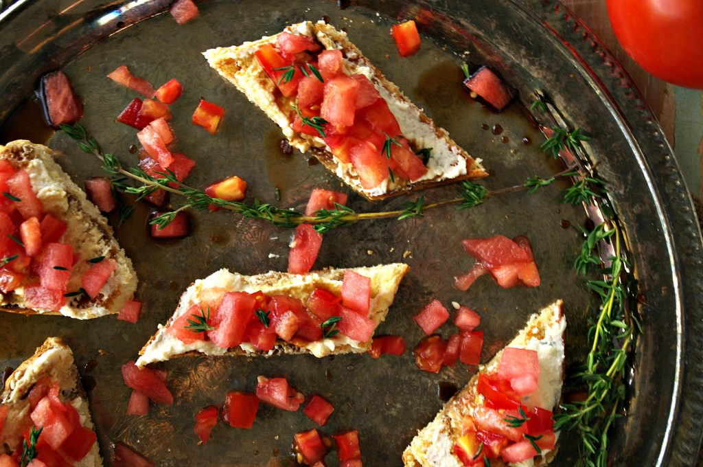 Watermelon Bruschetta