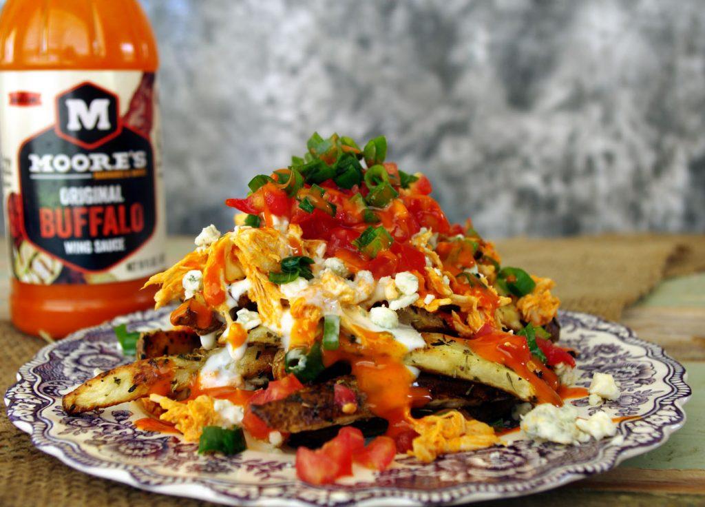 Buffalo Chicken Fries | Dixie Chik Cooks