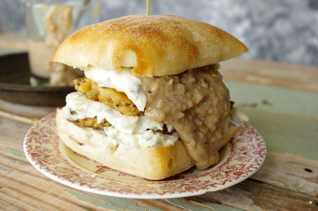 Country Fried Venison Slider | Dixie Chik Cooks