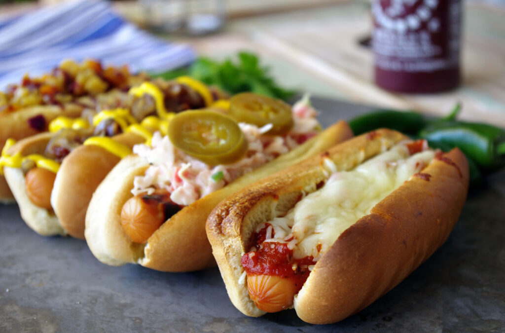 Loaded Hot Dogs
