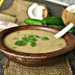Coconut Jalapeno Basmati Rice Soup